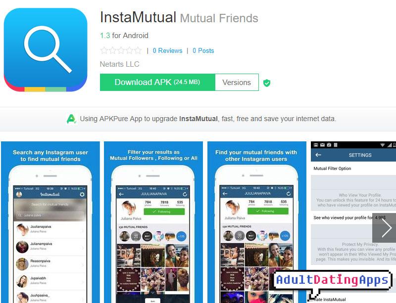 Instamutual app