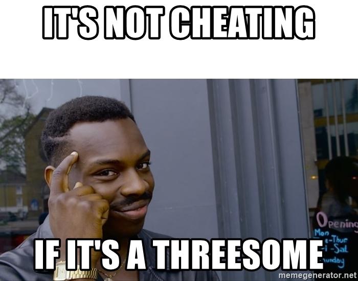 threesome meme